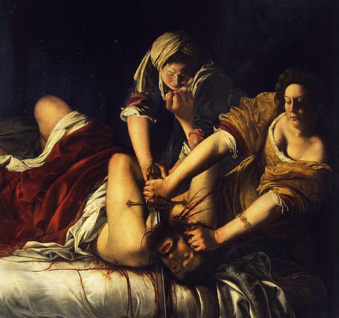 cuadro-judit-decapita-Holofernes