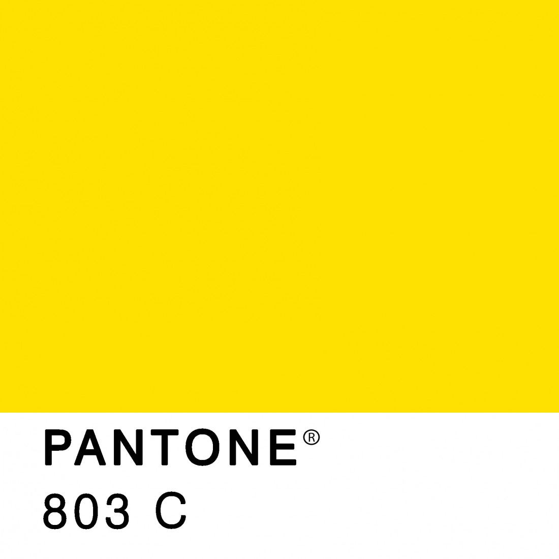 color amarillo pantone