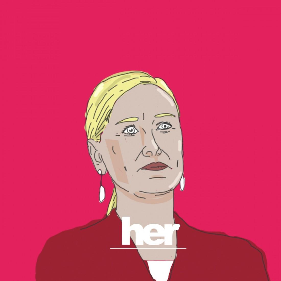 Cristina cifuentes ilustración