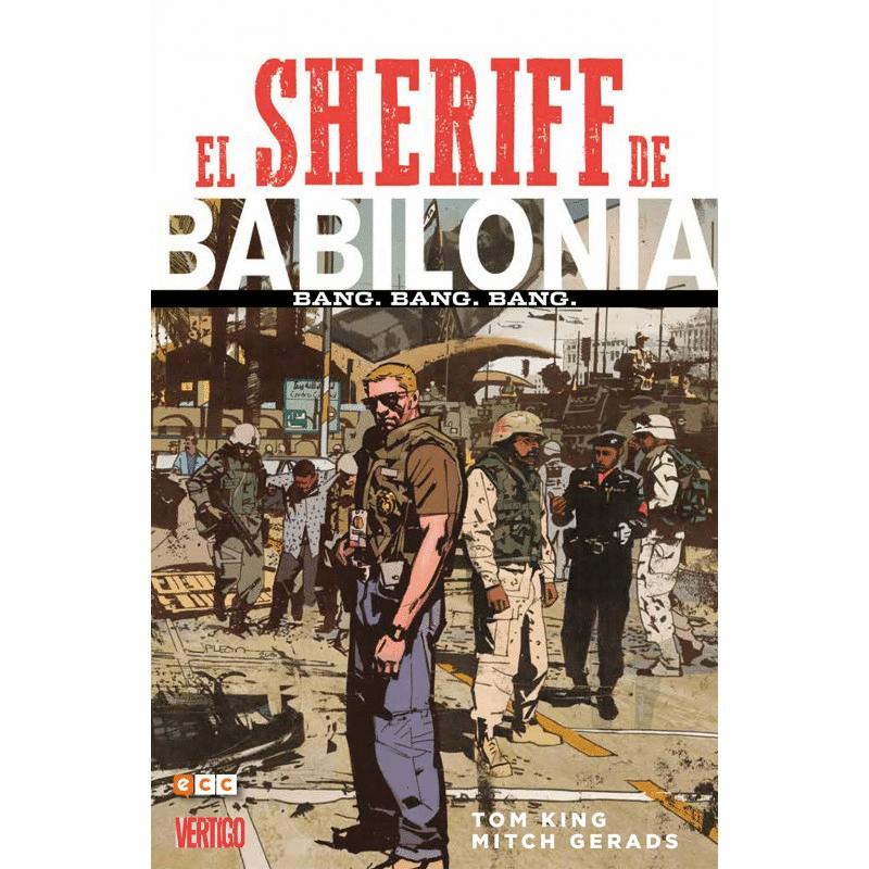 portada comic, el sheriff de Babilonia