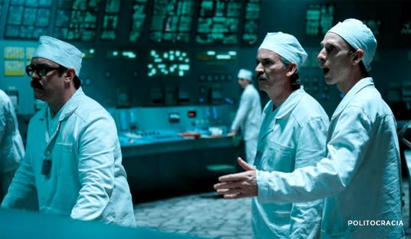 imagen de la serie Chernobyl, HBO