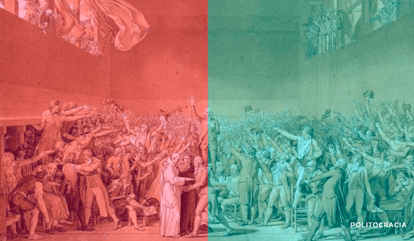 Derecha e izquierda, Asamblea Nacional Francesa