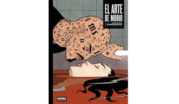 """Portada de cómic """"El arte de morir"""" Norma editorial"""