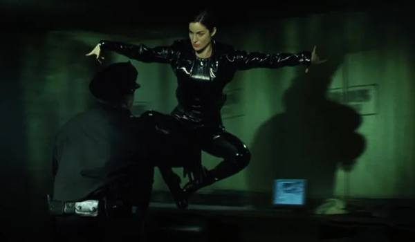 técnica bullet time, Matrix