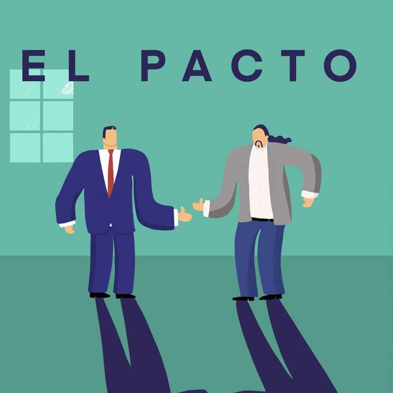 El pacto PSOE y Podemos